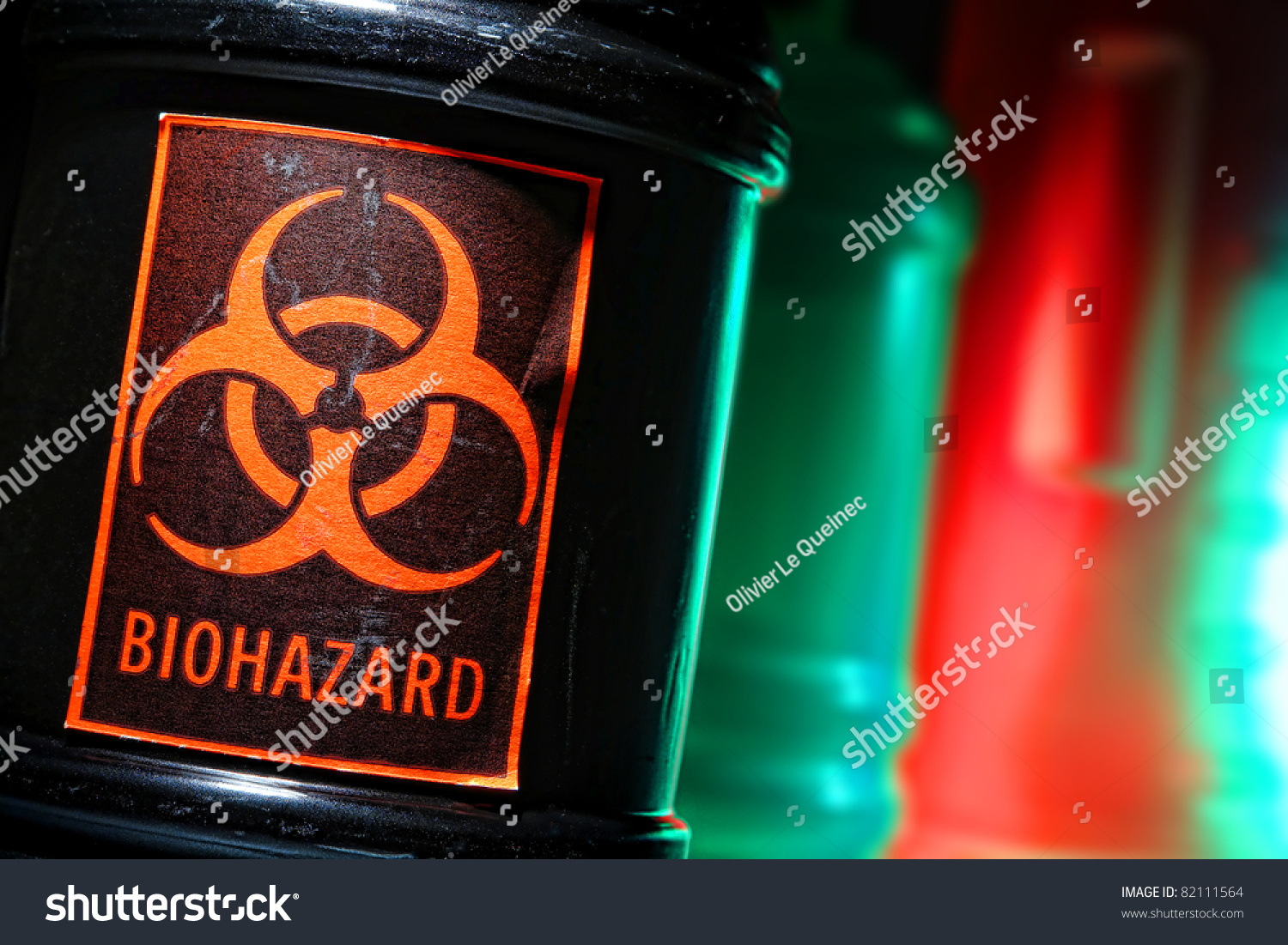 Grunge biohazard universal symbol danger warning stock photo grunge biohazard universal symbol danger warning label on a dangerous toxic waste black container in a biocorpaavc