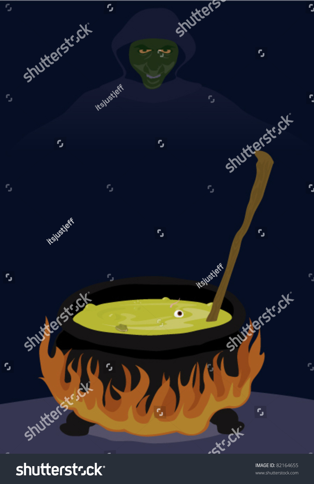 Witch Brew Stock Vector (Royalty Free) 82164655 - Shutterstock