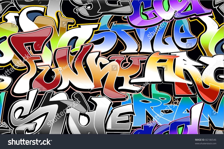 Graffiti wall vector free - Graffiti Wall