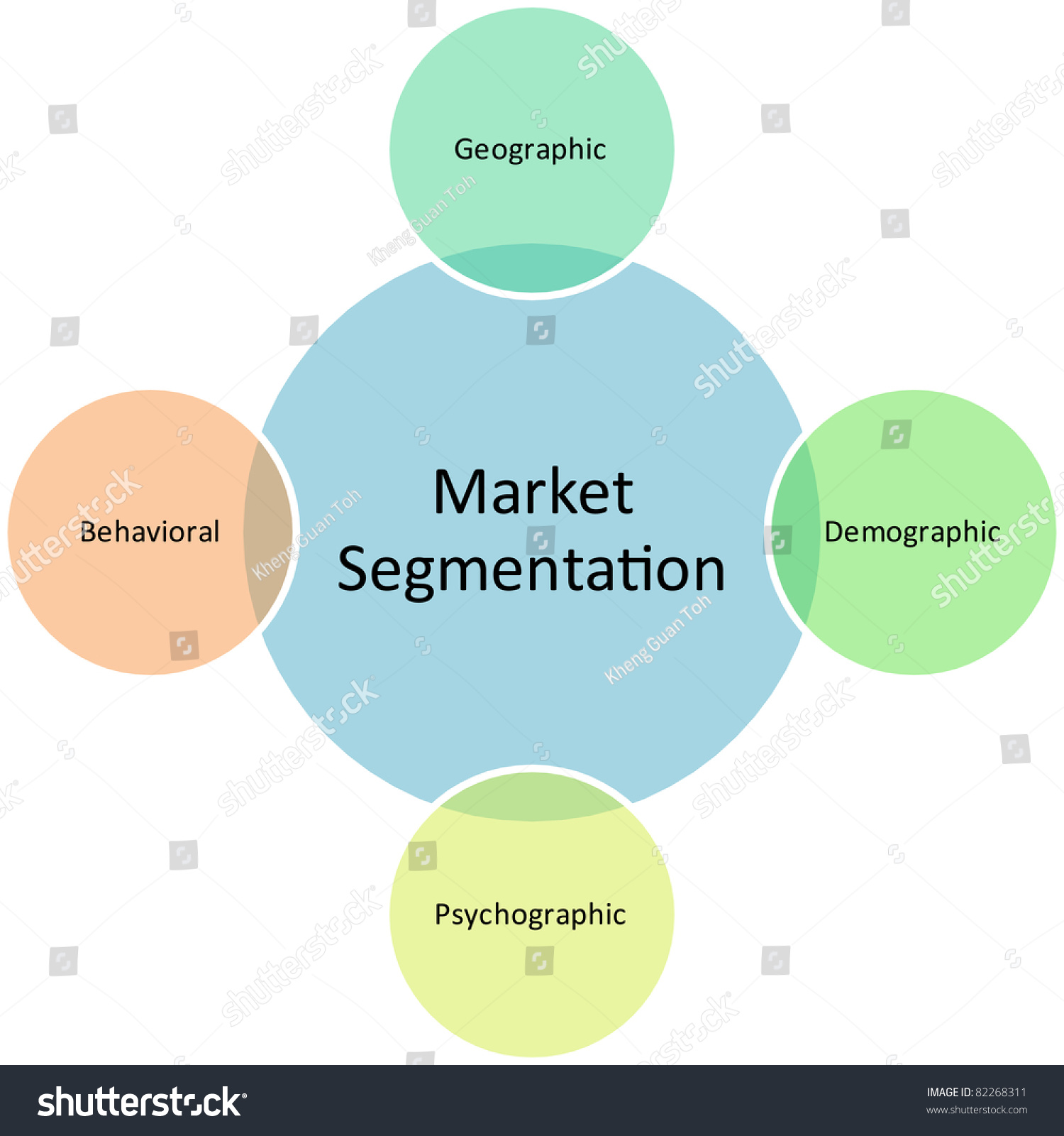 Market Segmentation Business Diagram Management Strategy