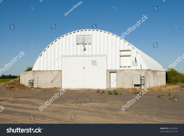 Modern Potato Storage Cellar In Idaho.