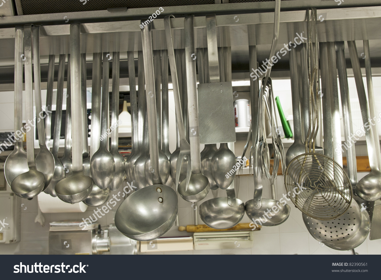 Restaurant Kitchen Utensils utensils kitchen restaurant stock photo 82390561 - shutterstock