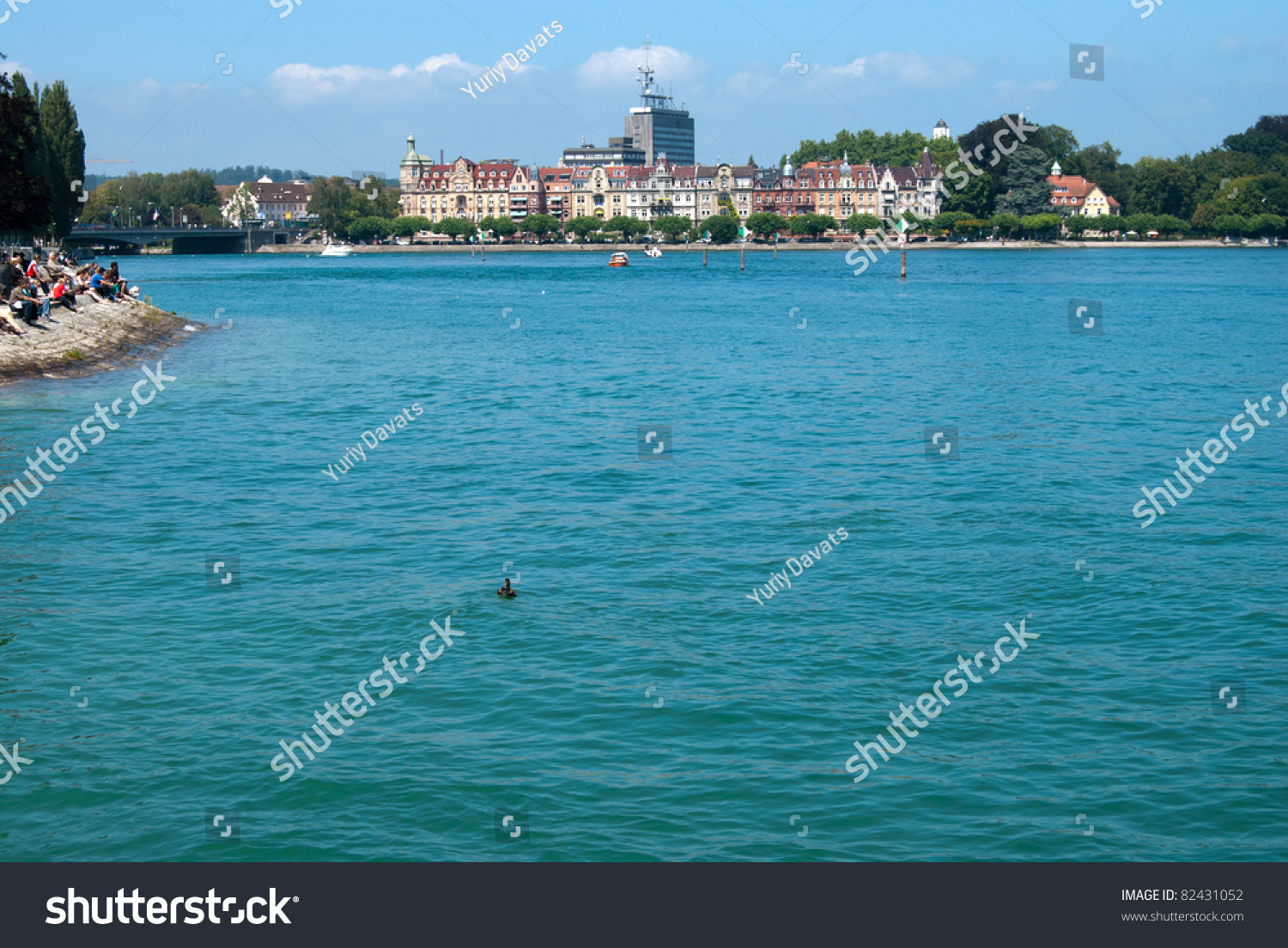 Constance city center and boden lake germany for Boden germany