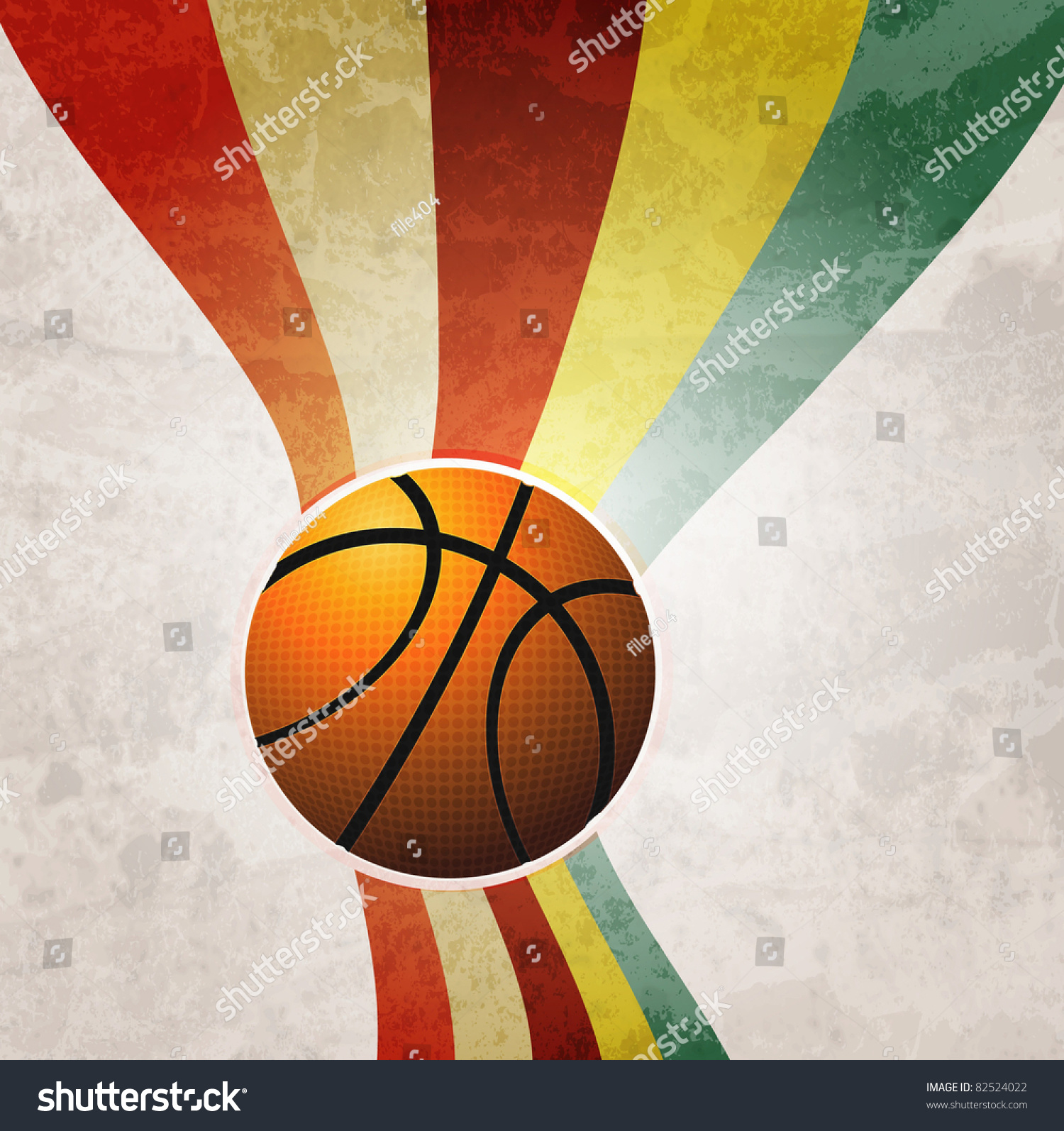 Basketball advertisement posters