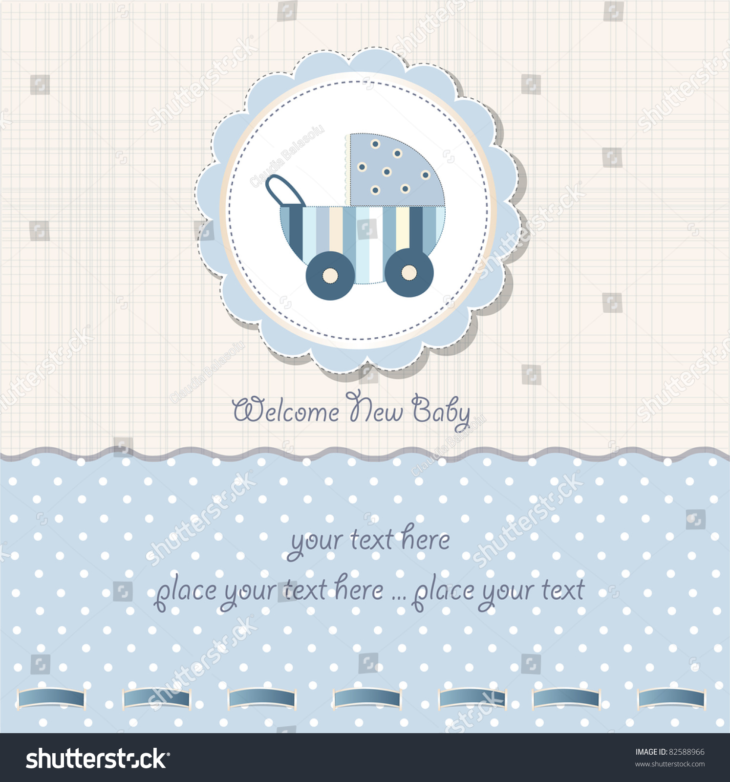 Baby boy arrival card vector by leonart image 600444 vectorstock - Baby Boy Shower Card Stock Vector Illustration 82588966 Wallpaper Gallery Baby Shower Card Vector By