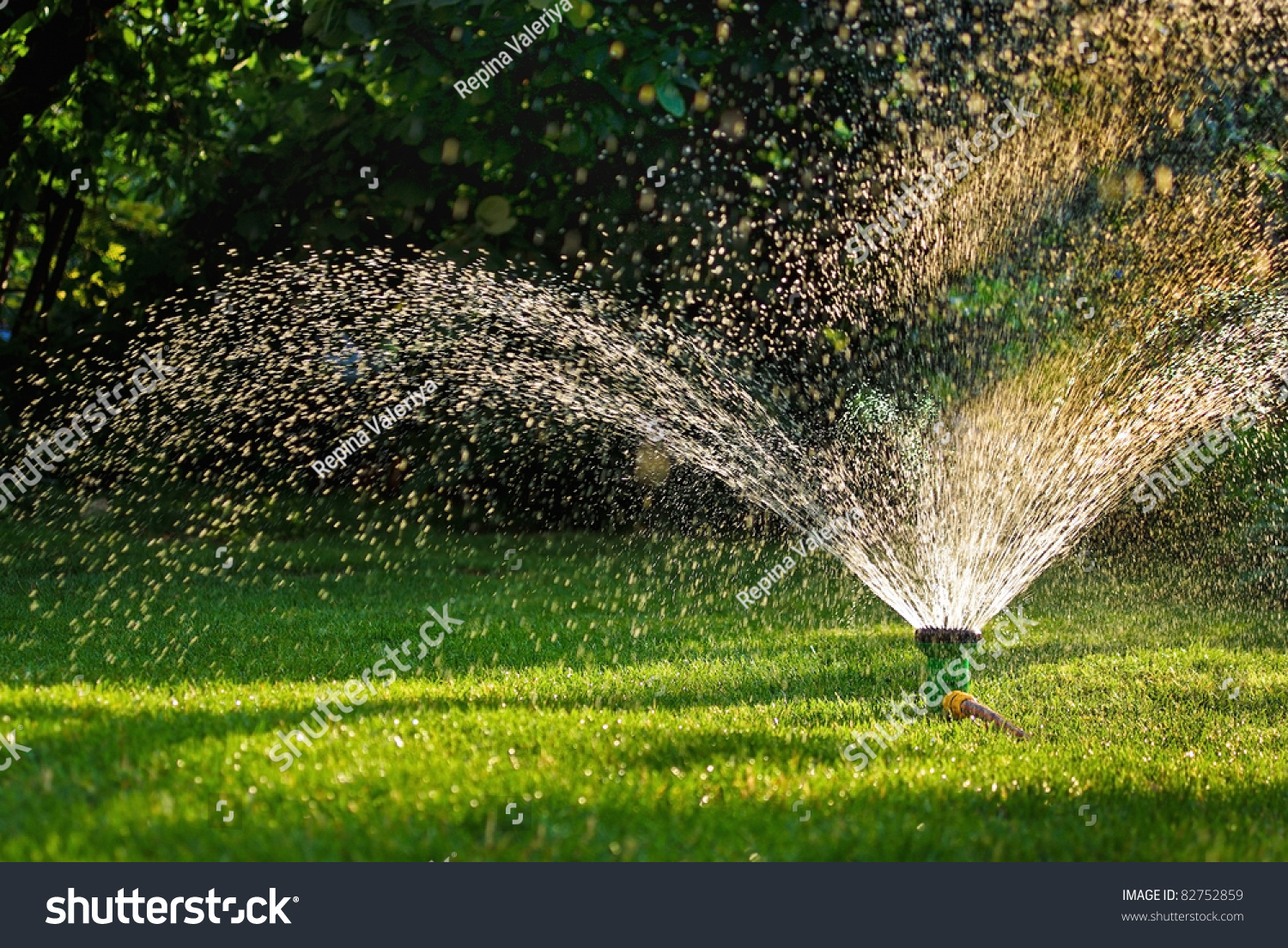 How To Design An Irrigation System At Home General Placement Of Irrigation  Components Simple Garden Sprinkler