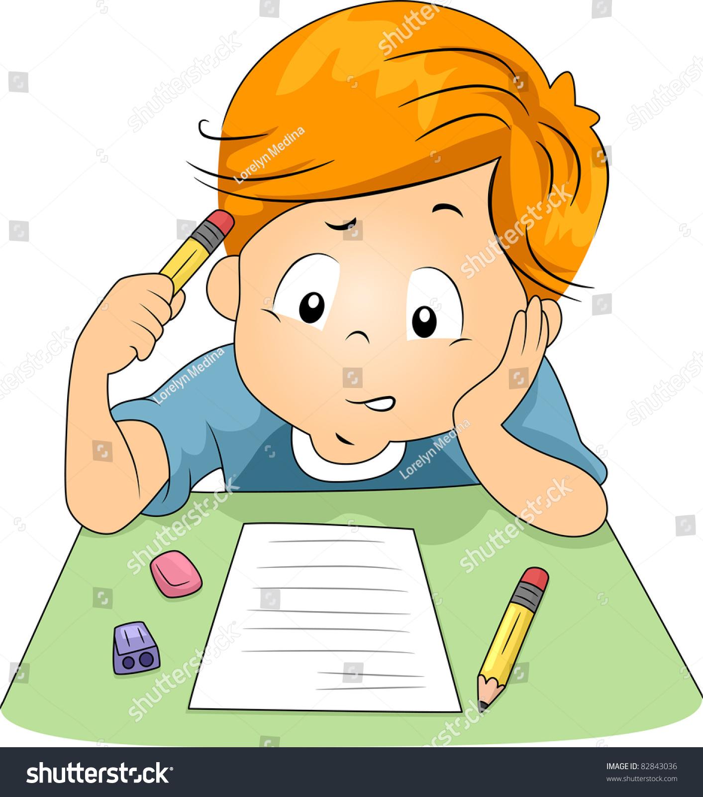 Illustration Of A Kid ...