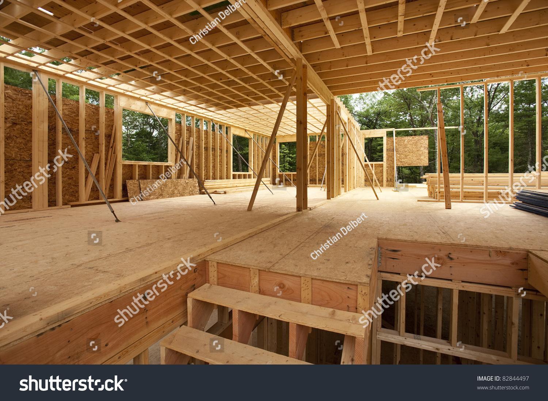 Interior home framing