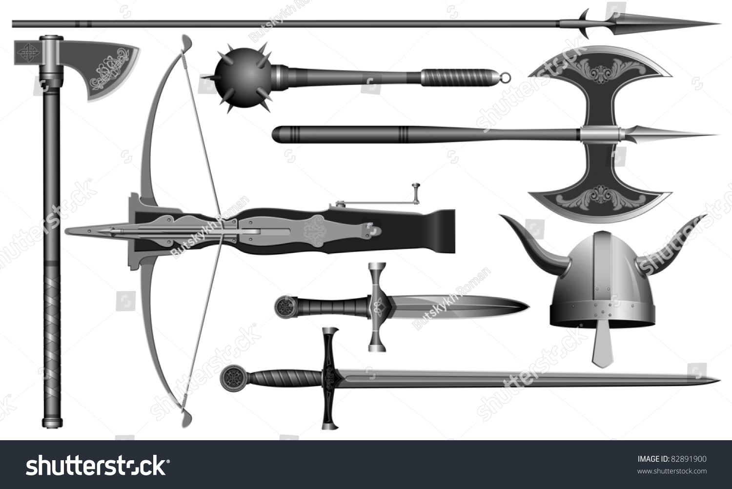 Medieval Weapons and Armour.