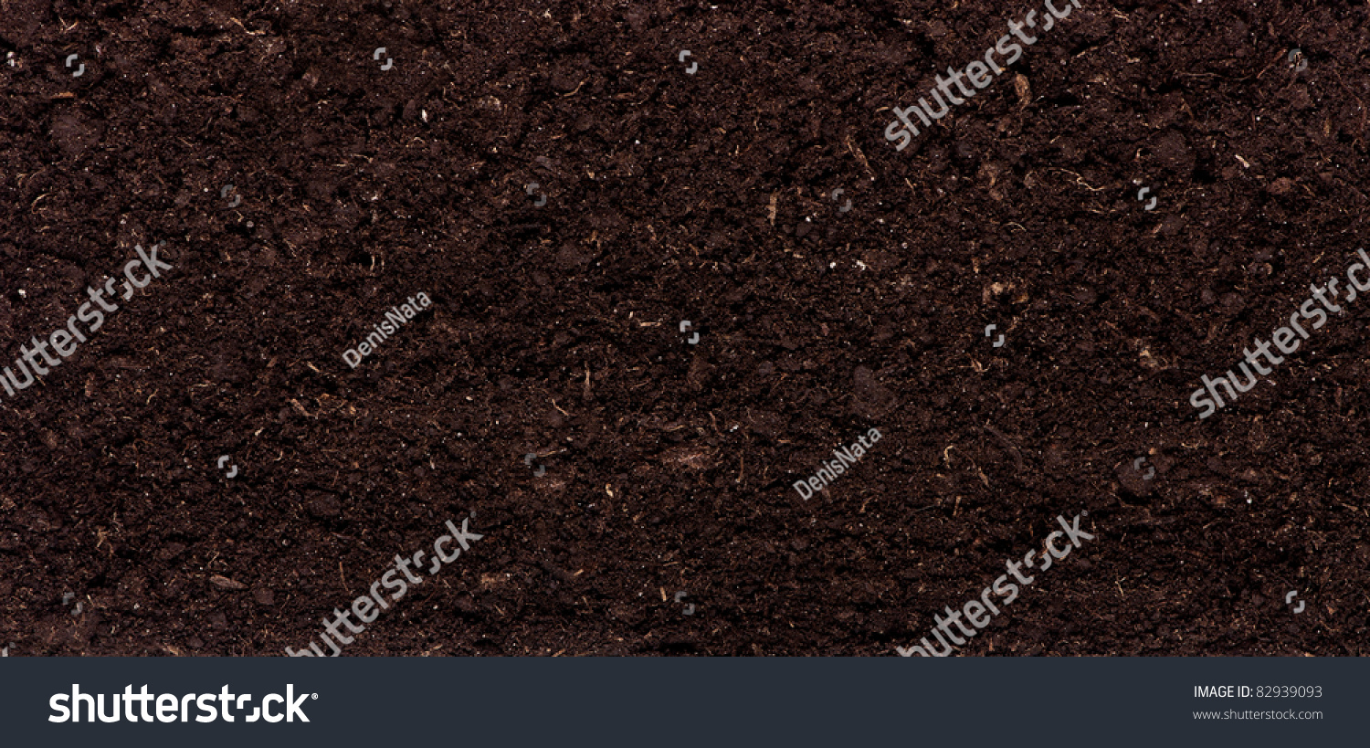 Close up of organic soil can be used as background stock for Uses of soil in english
