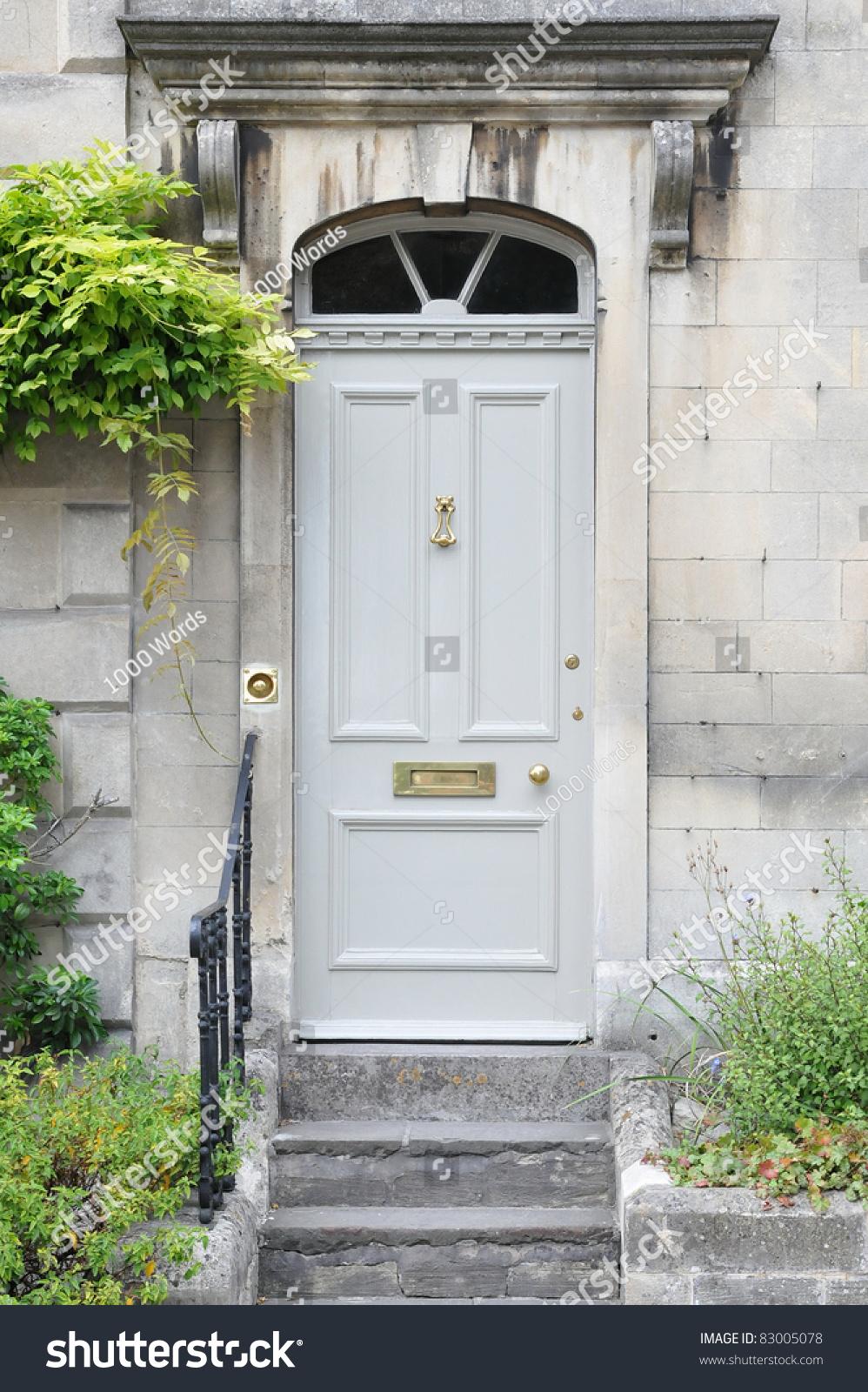 Front Door Old London Town House Stock Photo 83005078 - Shutterstock