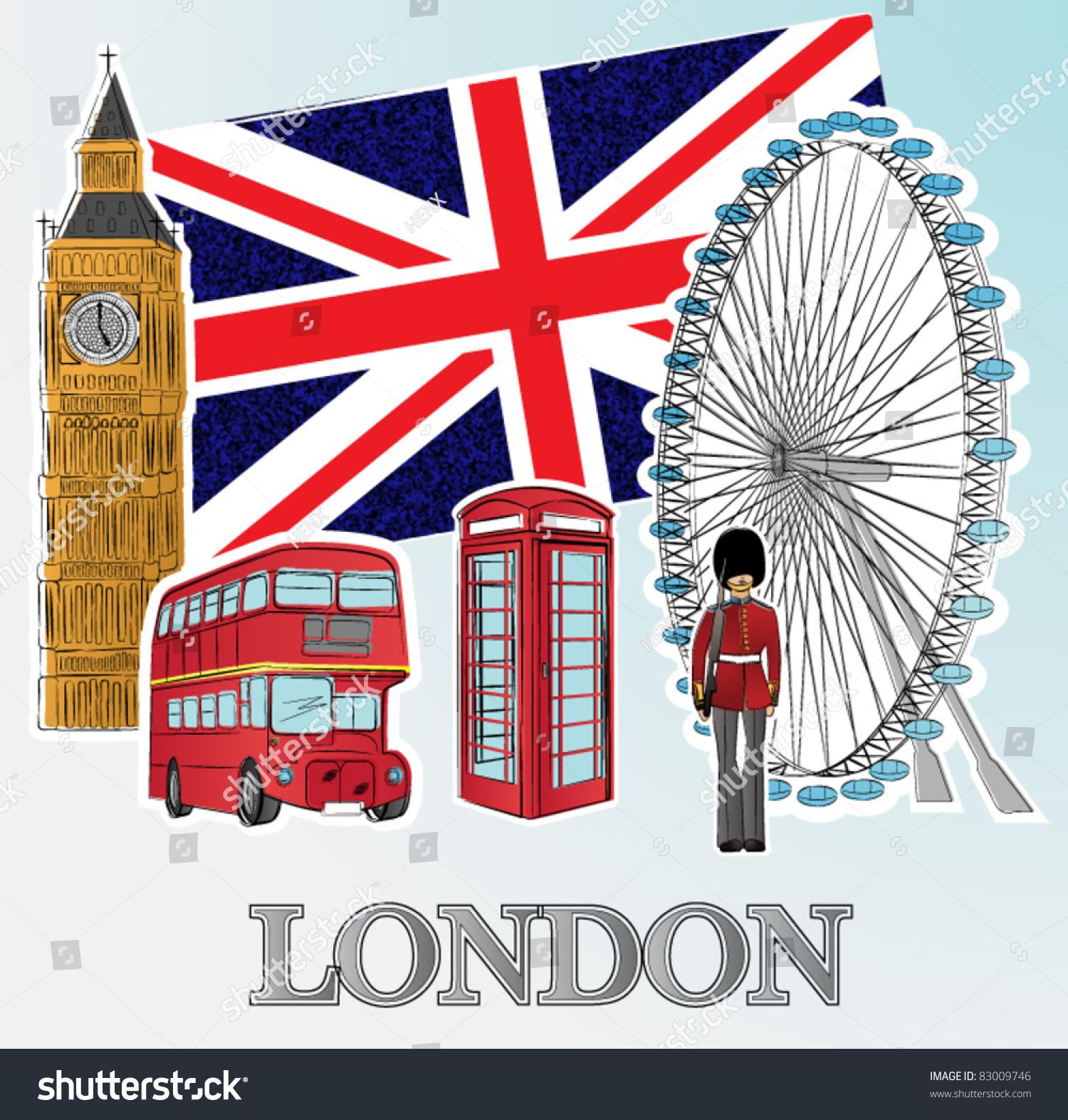 London Clip Art : London stock vector shutterstock