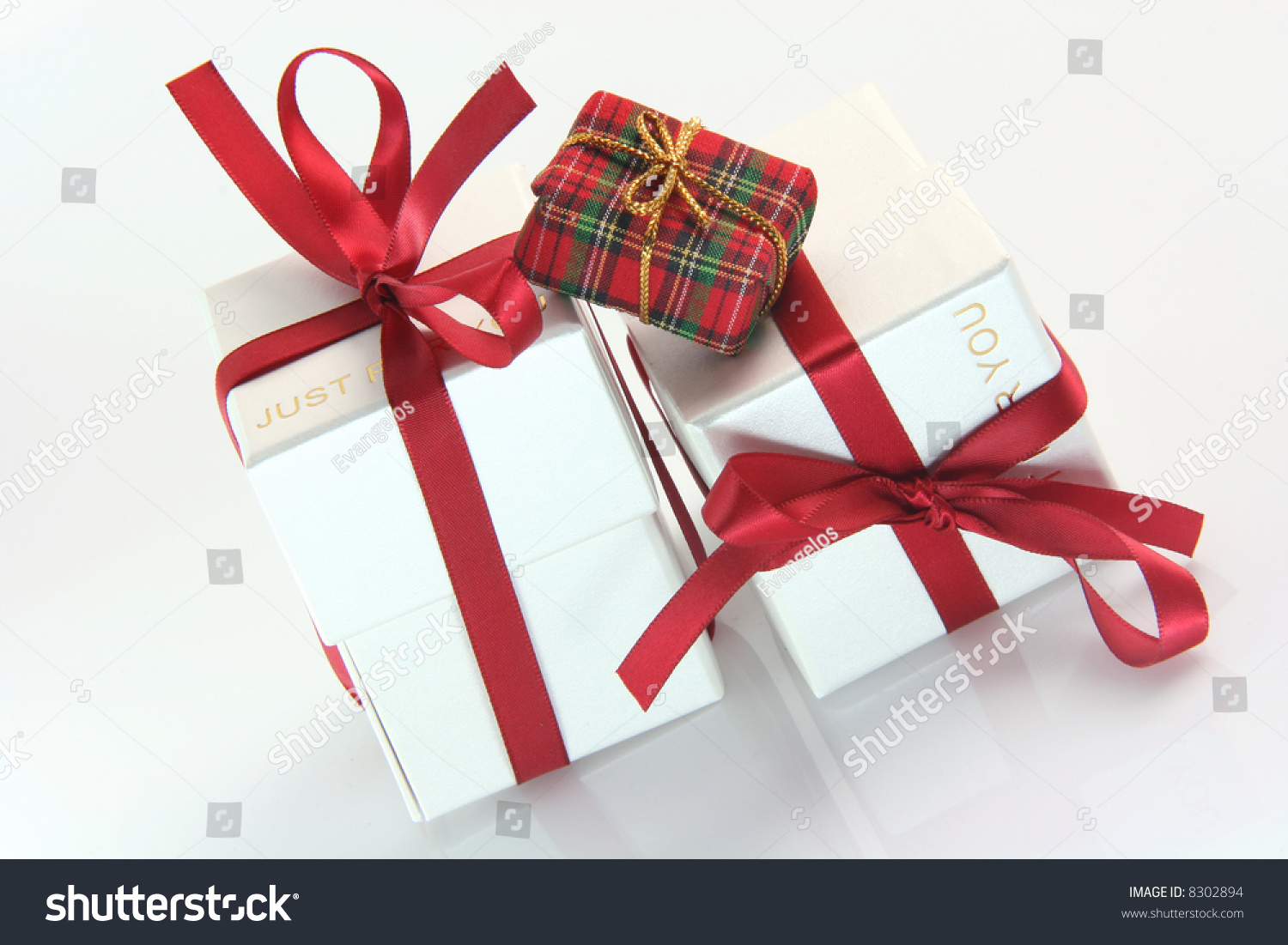 One Small Tiny Gift Box Two Stock Photo (Edit Now) 8302894 ...