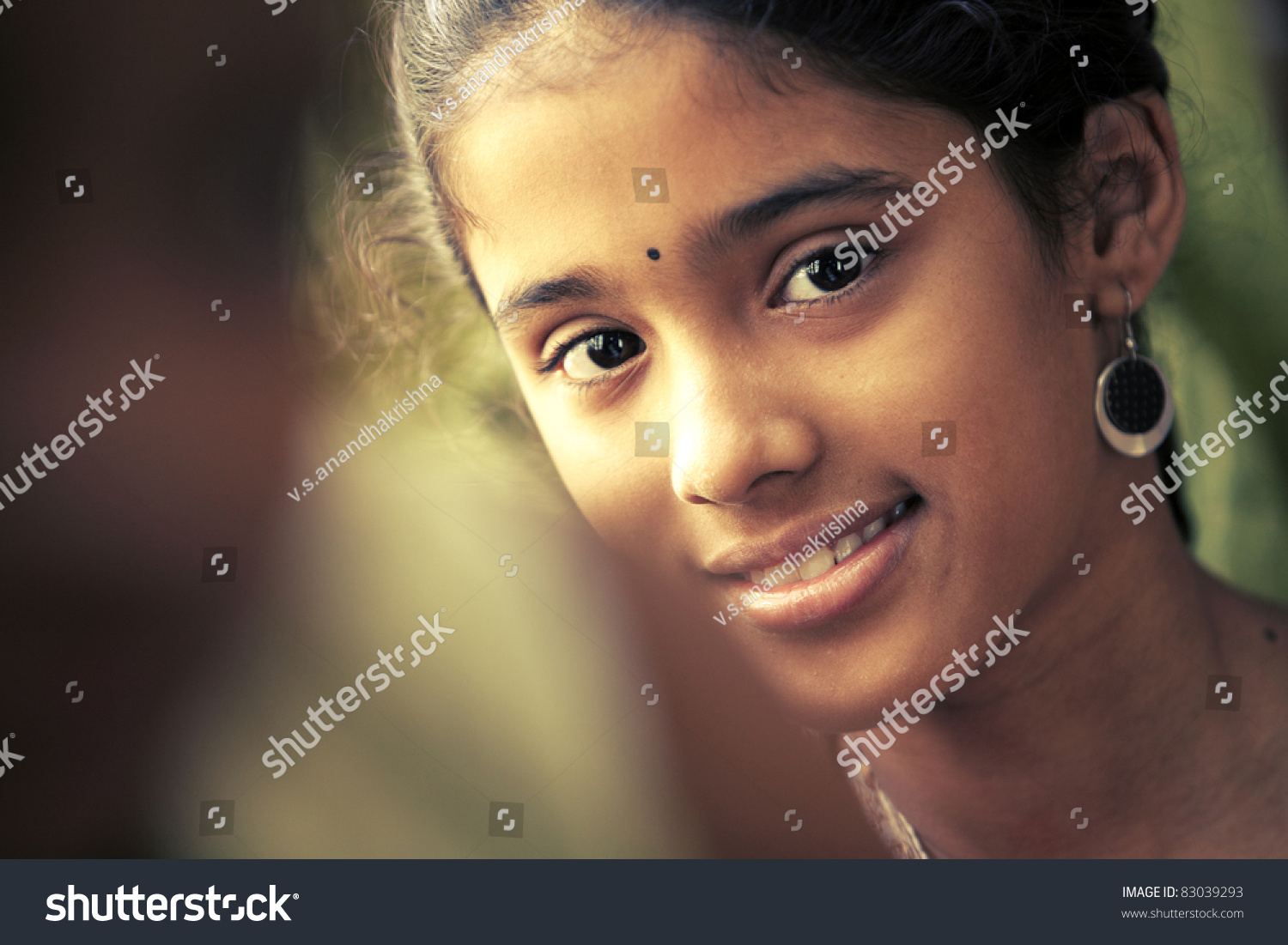 indian beautiful teen girl stock photo & image (royalty-free