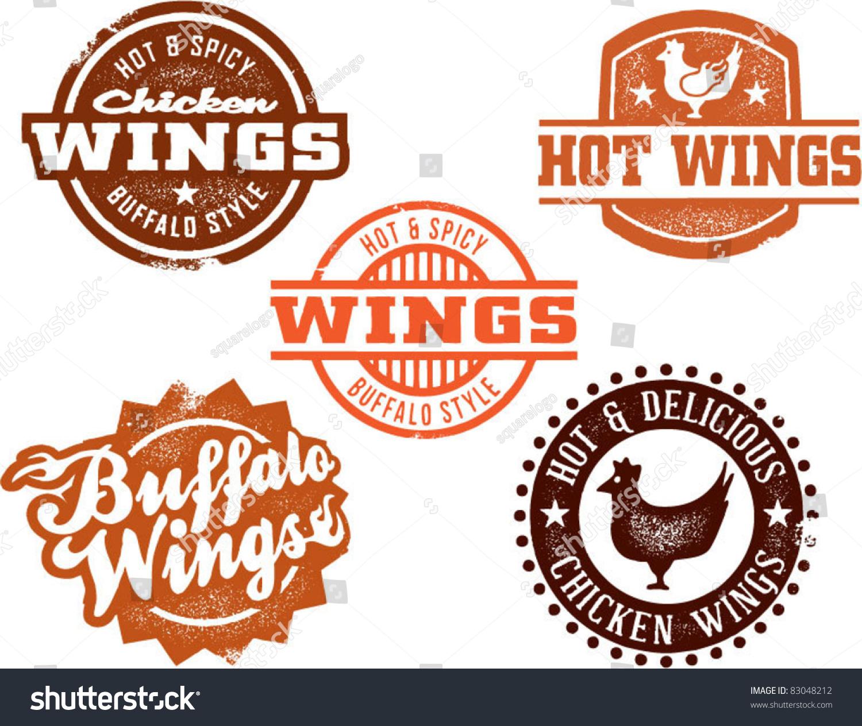 Beer And Wings Clip Art Chicken wings stock vectors & vector clip art ...