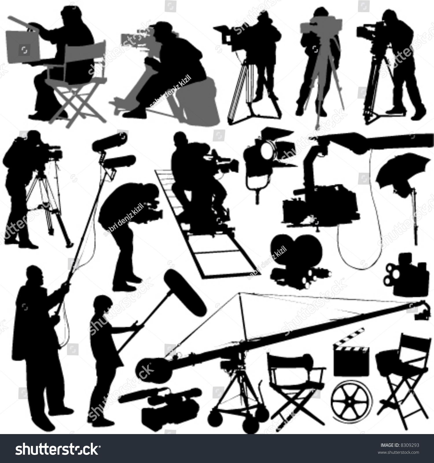 Movie set operator
