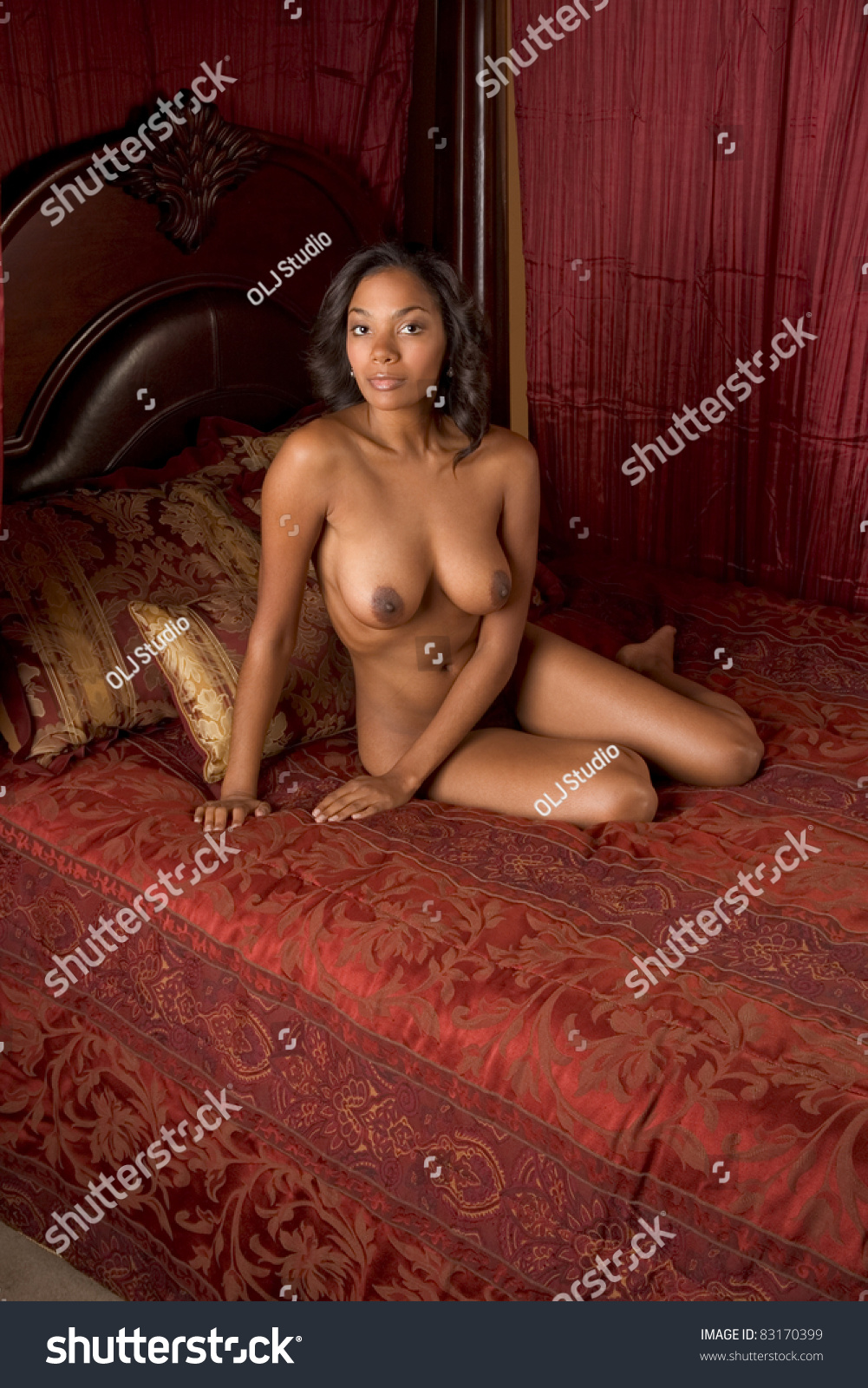 afro asian nude women