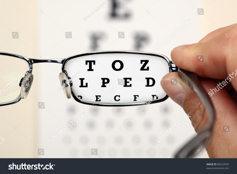Eye glasses exam