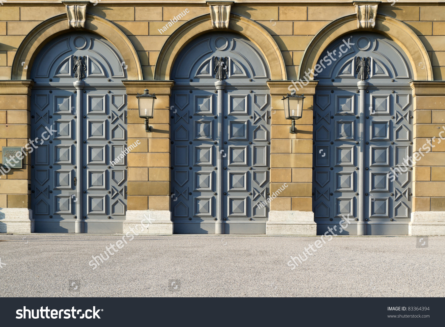 Historic doors of the museum of egyptian art in Munich Germany & Historic Doors Museum Egyptian Art Munich Stock Photo 83364394 ... pezcame.com