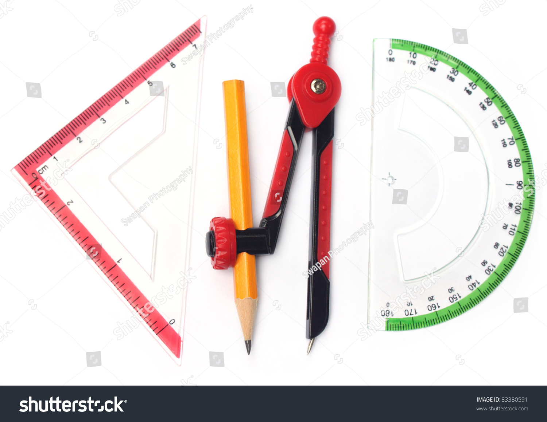 Geometry Tools Stock Photo 83380591 Shutterstock