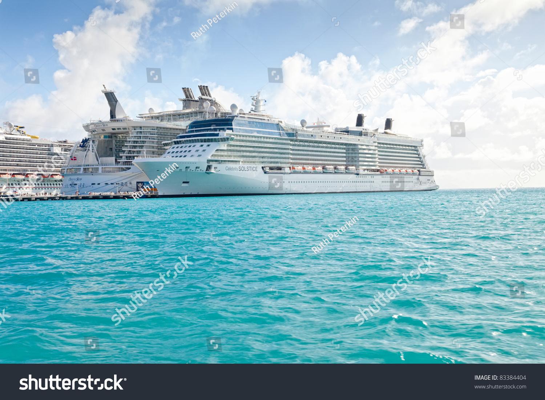 Philipsburg St Maarten Jan Cruise Stock Photo - Philipsburg st maarten cruise ship schedule