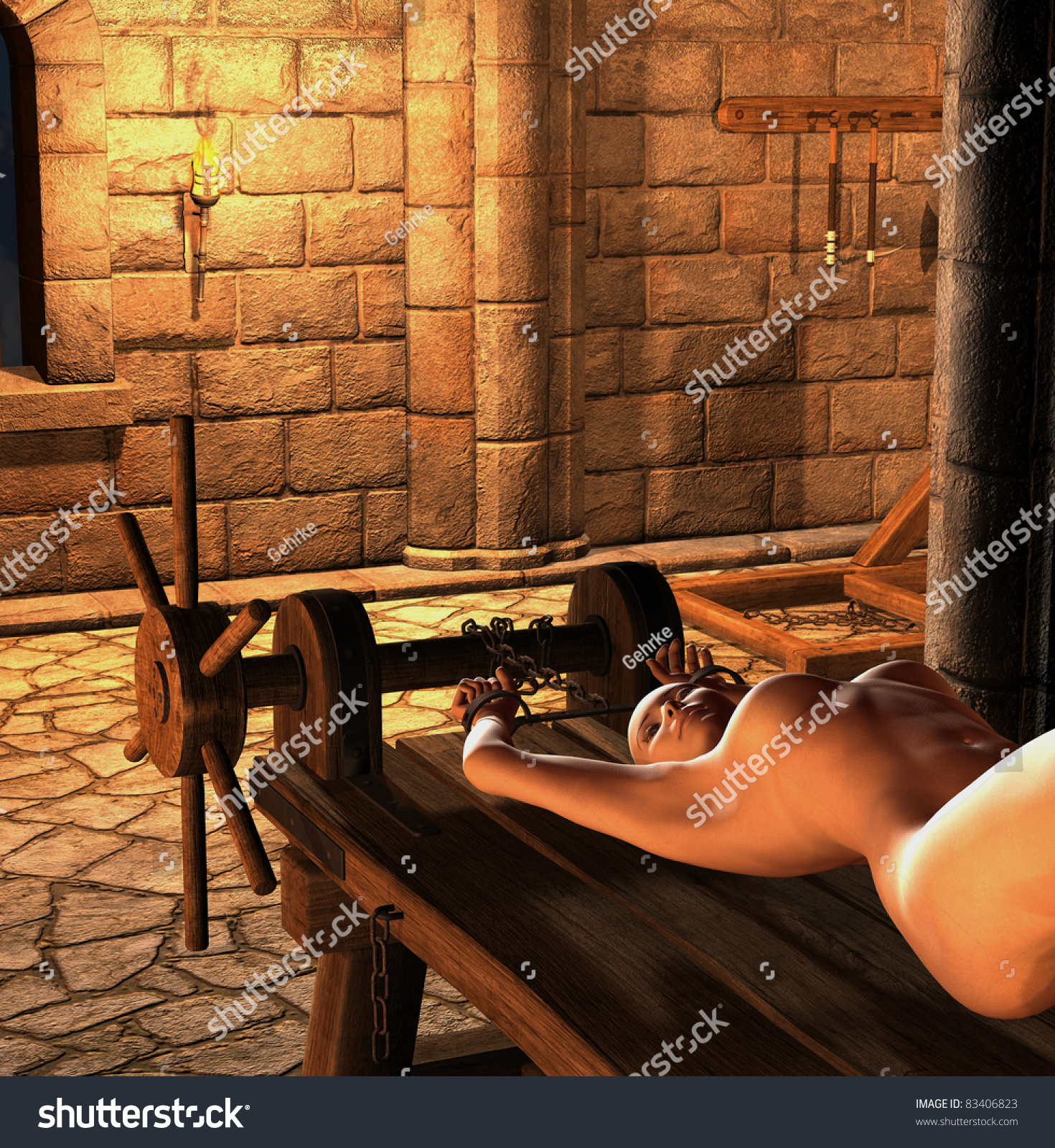 Medieval torture rack porn adult picture