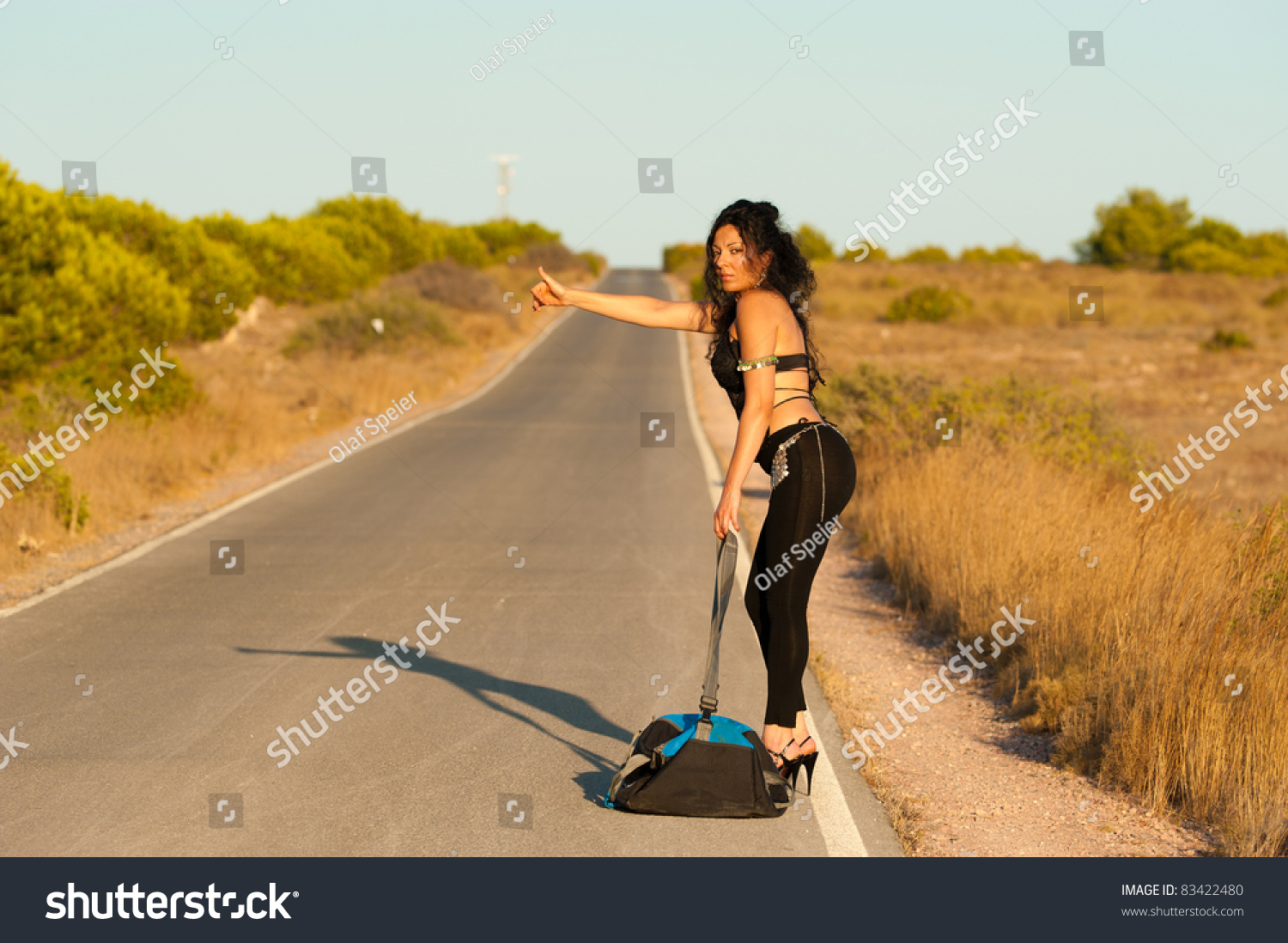 hitchhiker sexy