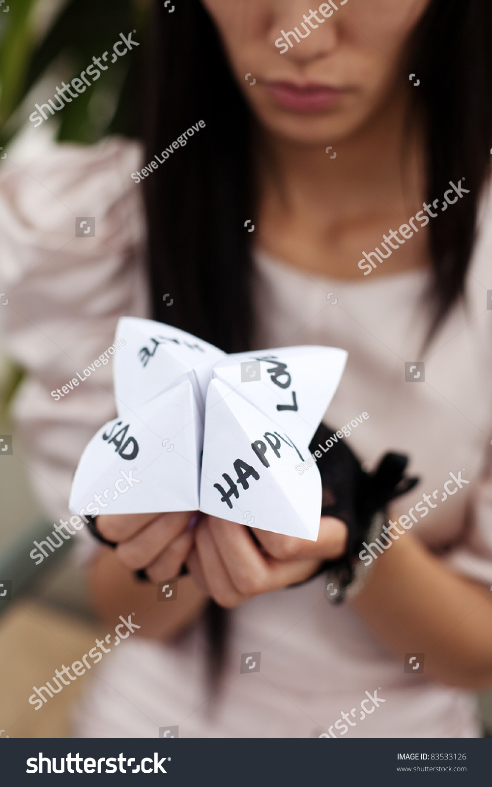 folded paper fortune teller Have ever played paper fortune teller before how wonderful it is to see a few folds transforming a normal piece of paper into a flower, animal, camera .