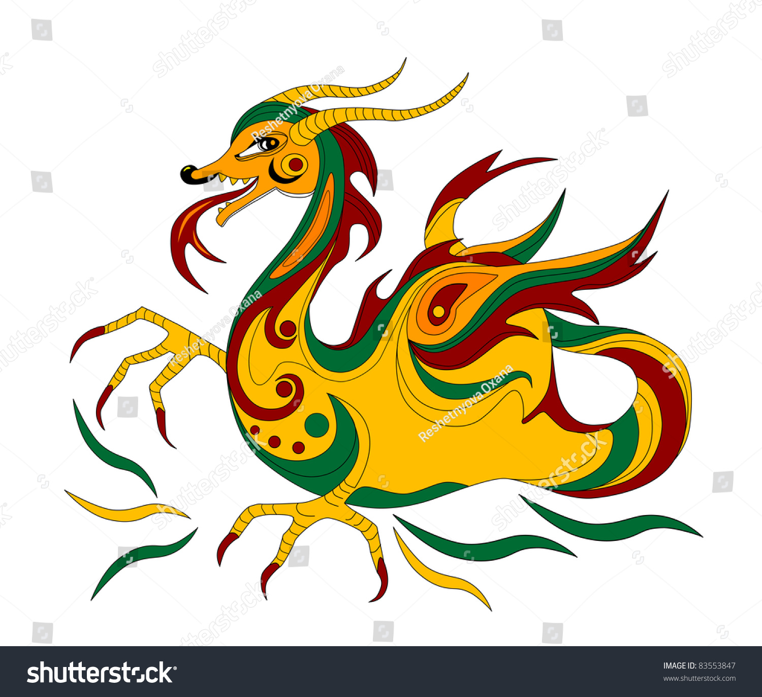 Funny chinese dragon symbol calendar 2012 stock illustration funny chinese dragon is symbol of calendar 2012 biocorpaavc