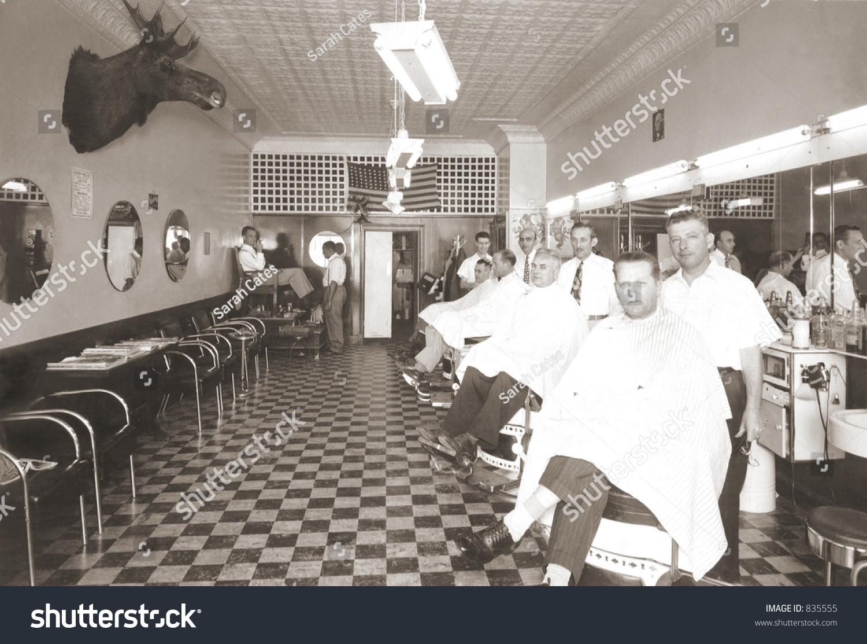 Vintage Barbershop Stock Photo 835555 Shutterstock