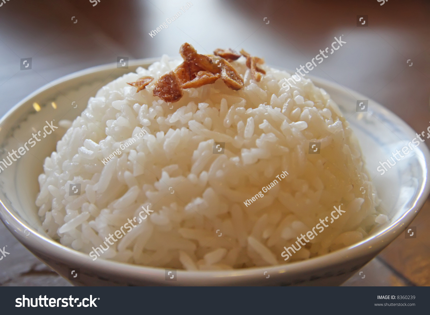 how to cook plain white rice