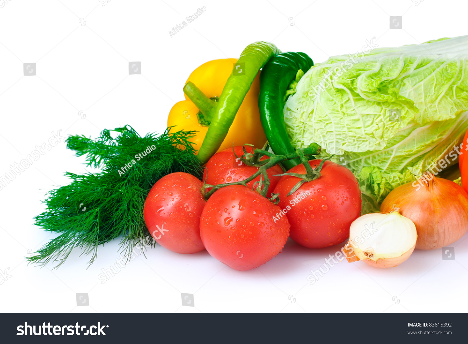 Beautiful vegetables isolated on white stock photo for Beautiful vegetables