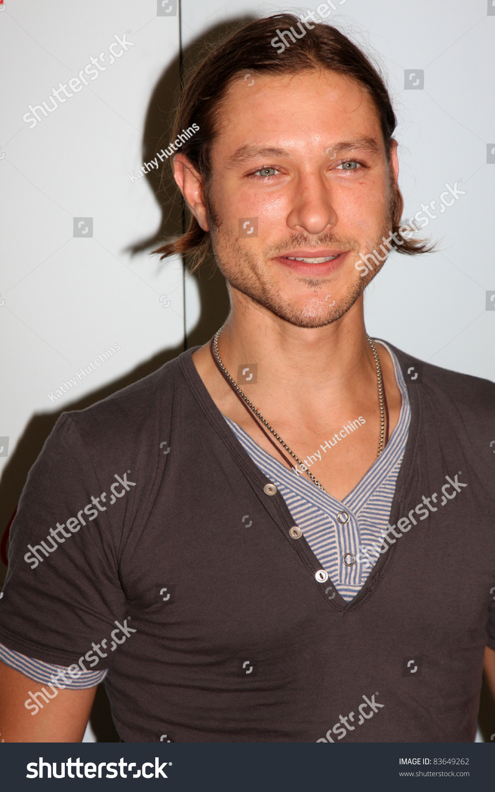 Los Angeles Aug 26 Michael Graziadei Stock Photo Edit Now 83649262