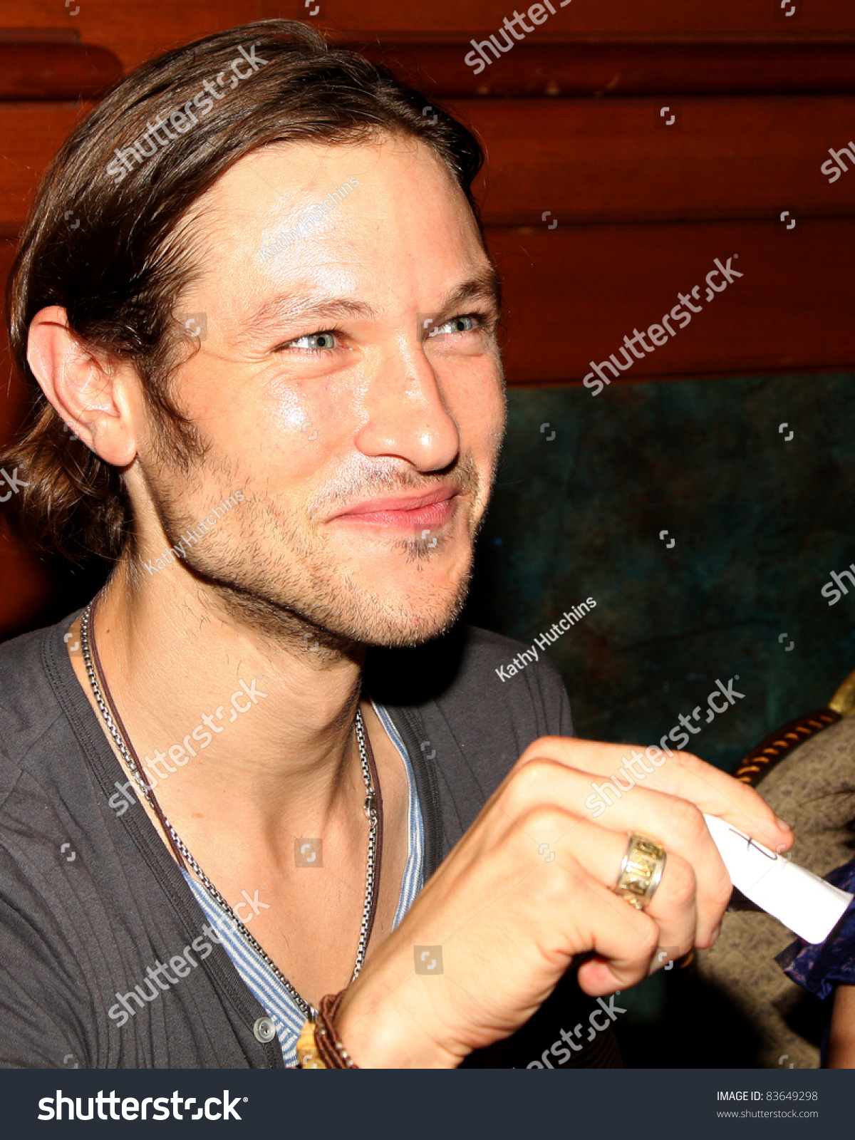 Los Angeles Aug 26 Michael Graziadei Stock Photo Edit Now 83649298