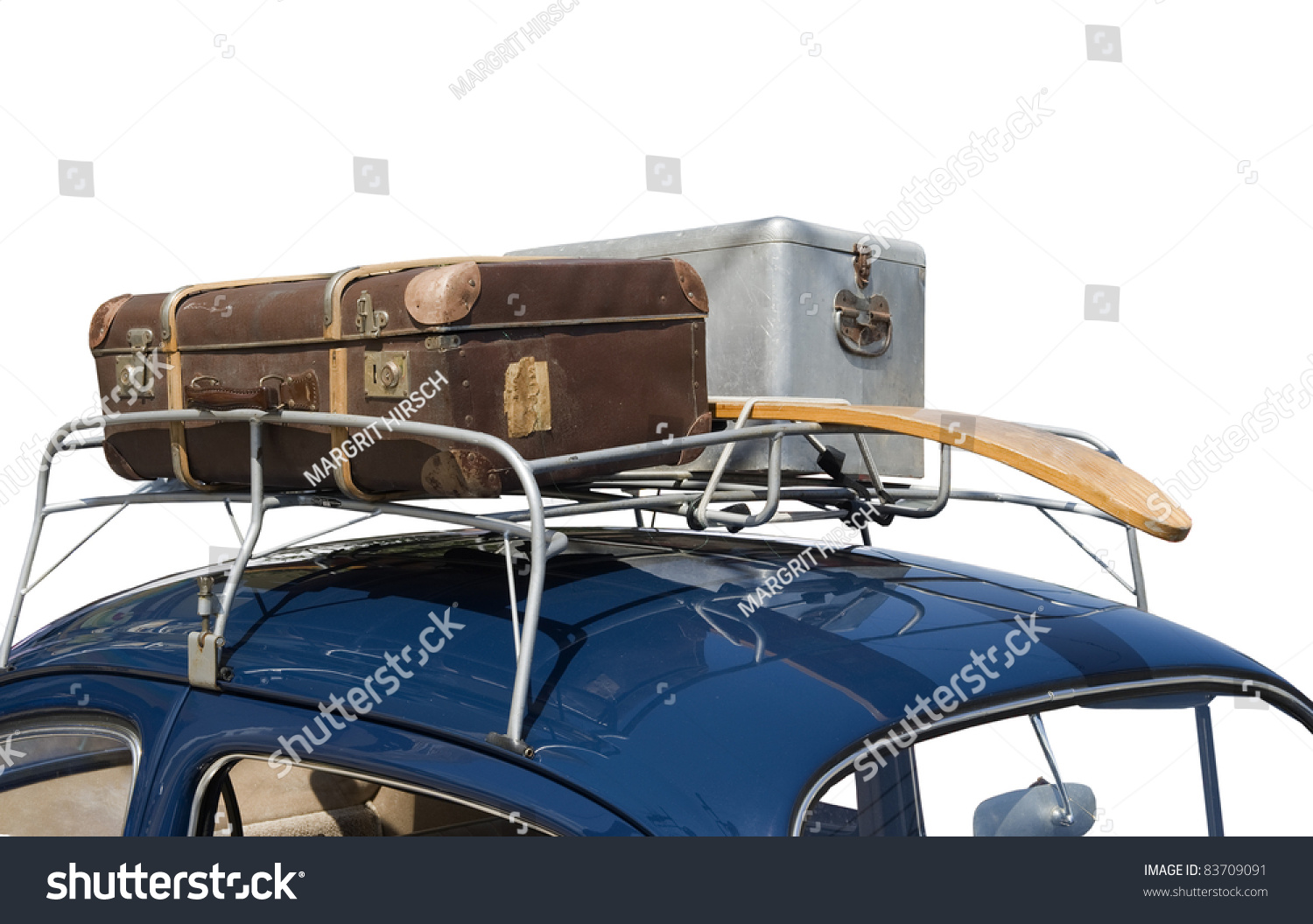 how to carry luggage on top of car