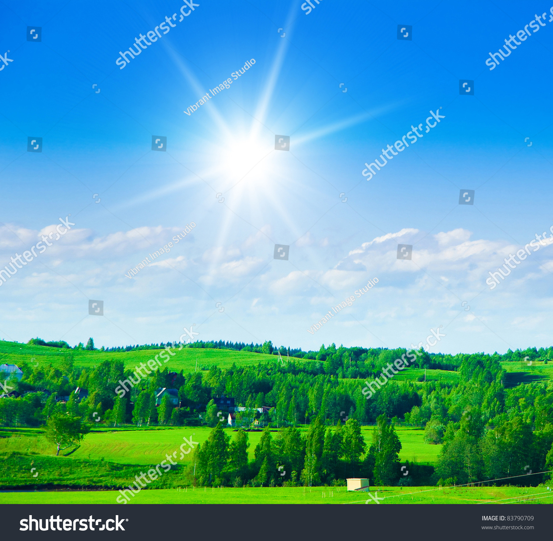bright sunshine natural wallpaper stock photo (edit now) 83790709