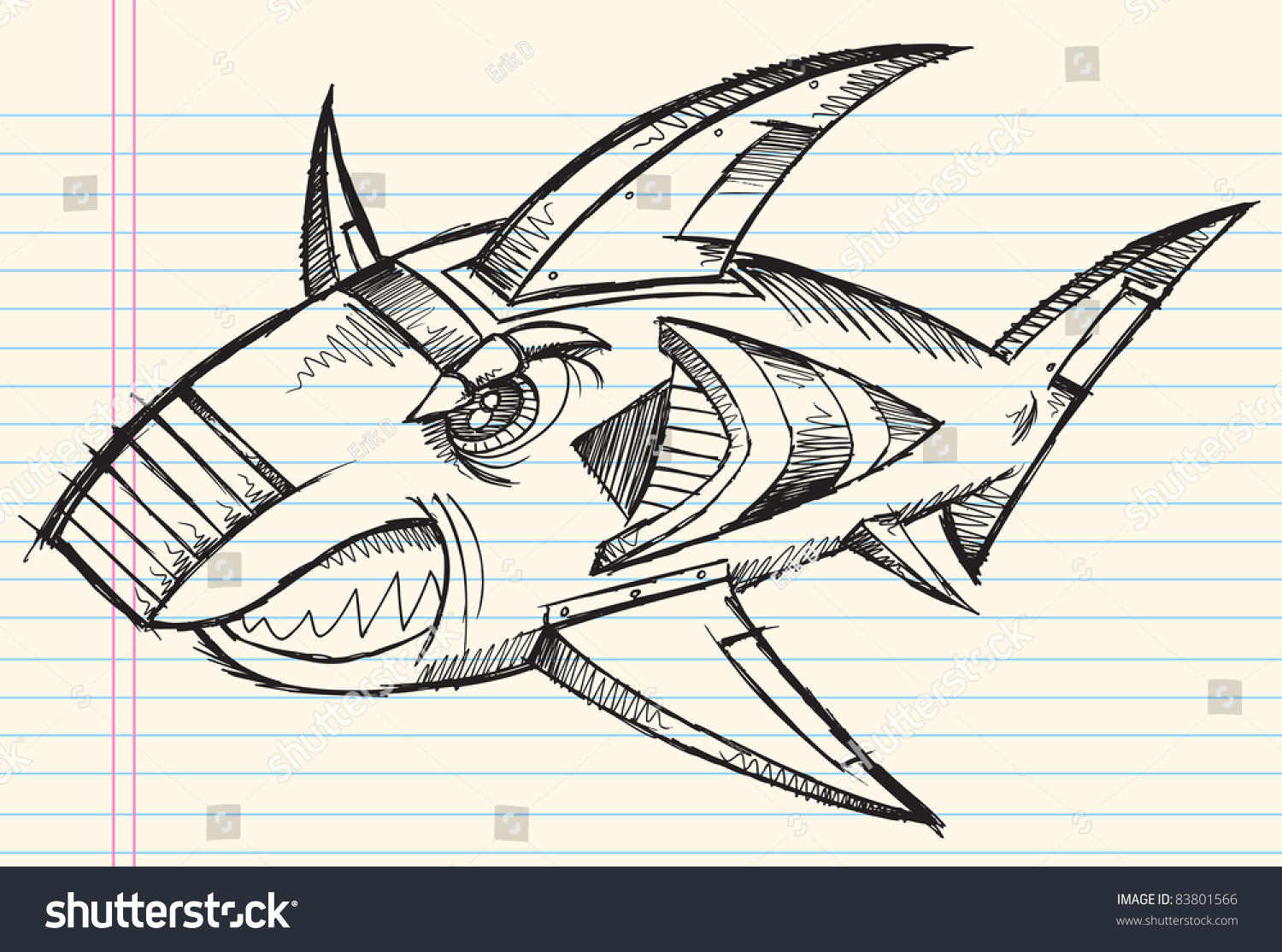 Notebook And Pen Sketch Stock Vector Art More Images Of