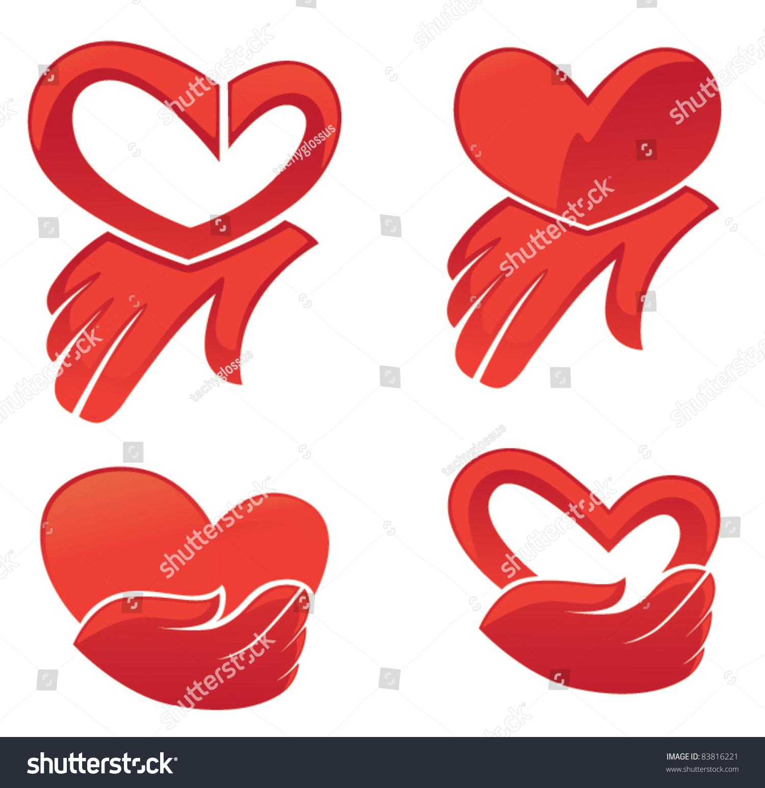 Vector collection hearts symbols stock vector 83816221 shutterstock vector collection of hearts symbols biocorpaavc