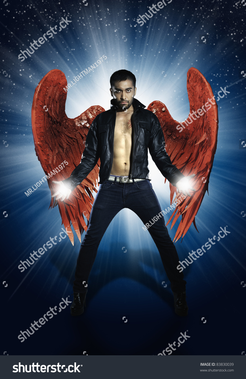 Rock Star Fashion Stock Photo 83830039 Shutterstock