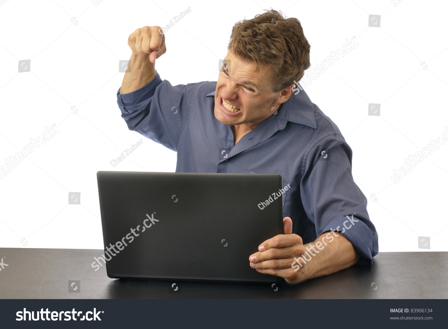 http://image.shutterstock.com/z/stock-photo-angry-man-punching-computer-isolated-on-white-background-83906134.jpg