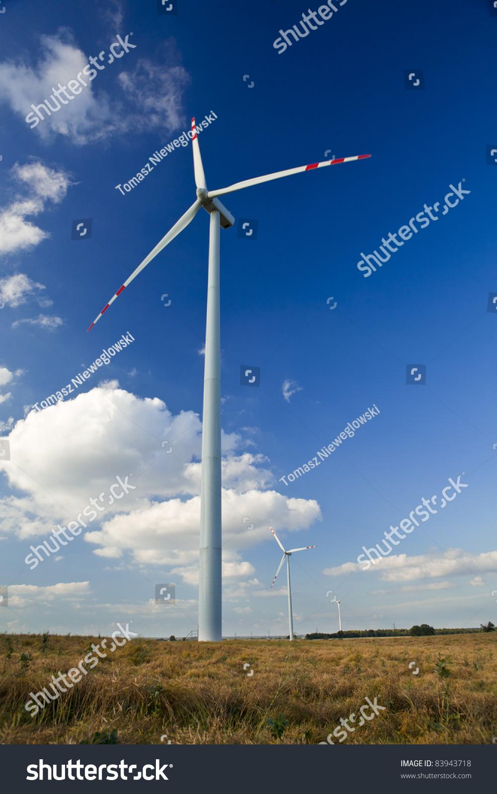Wind Turbines. Alternative Energy Source. Stock Photo 83943718 ...