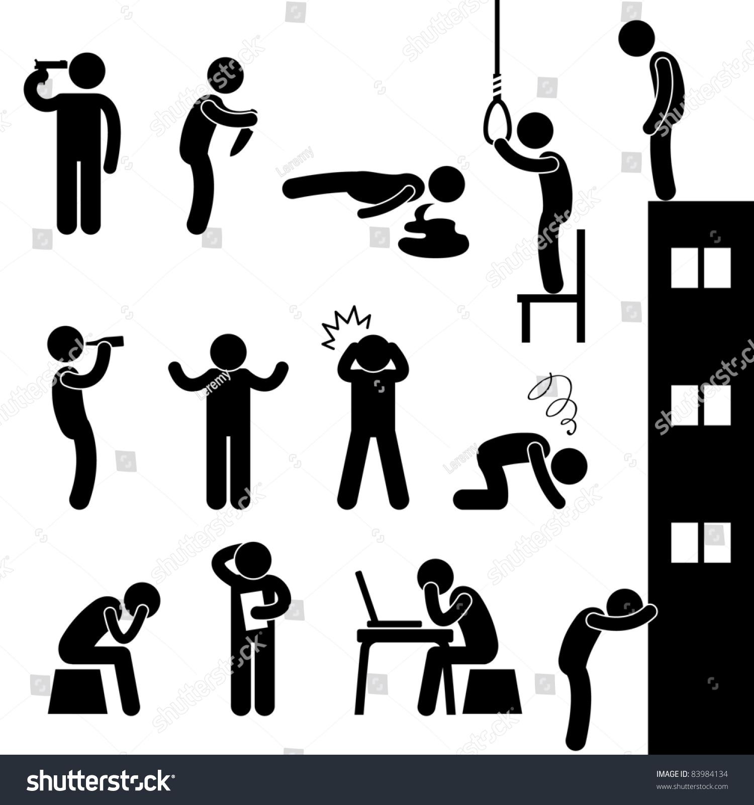 Man People Life Suicid...