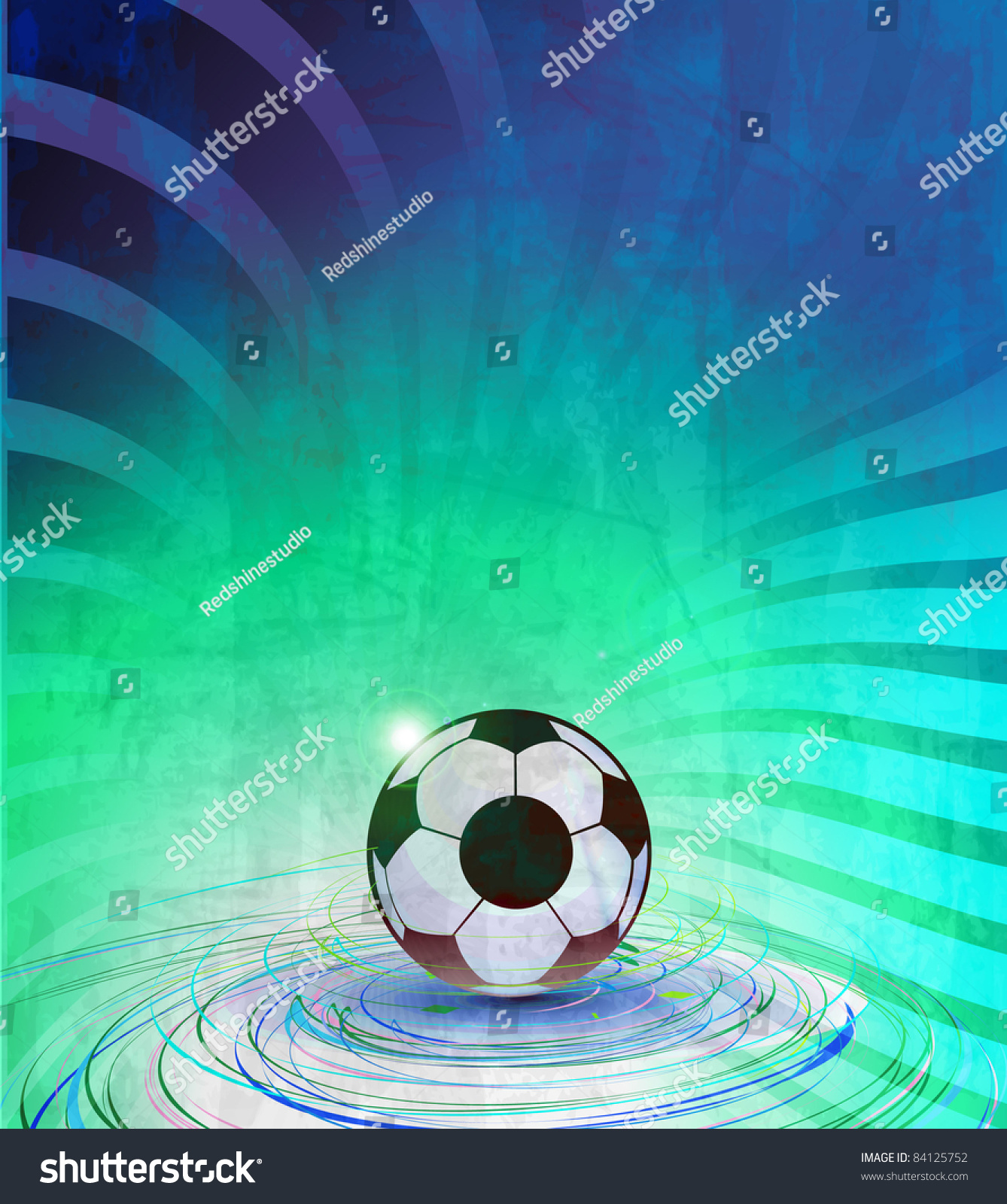Poster design eps - Football Poster Design Eps10 Vector Background