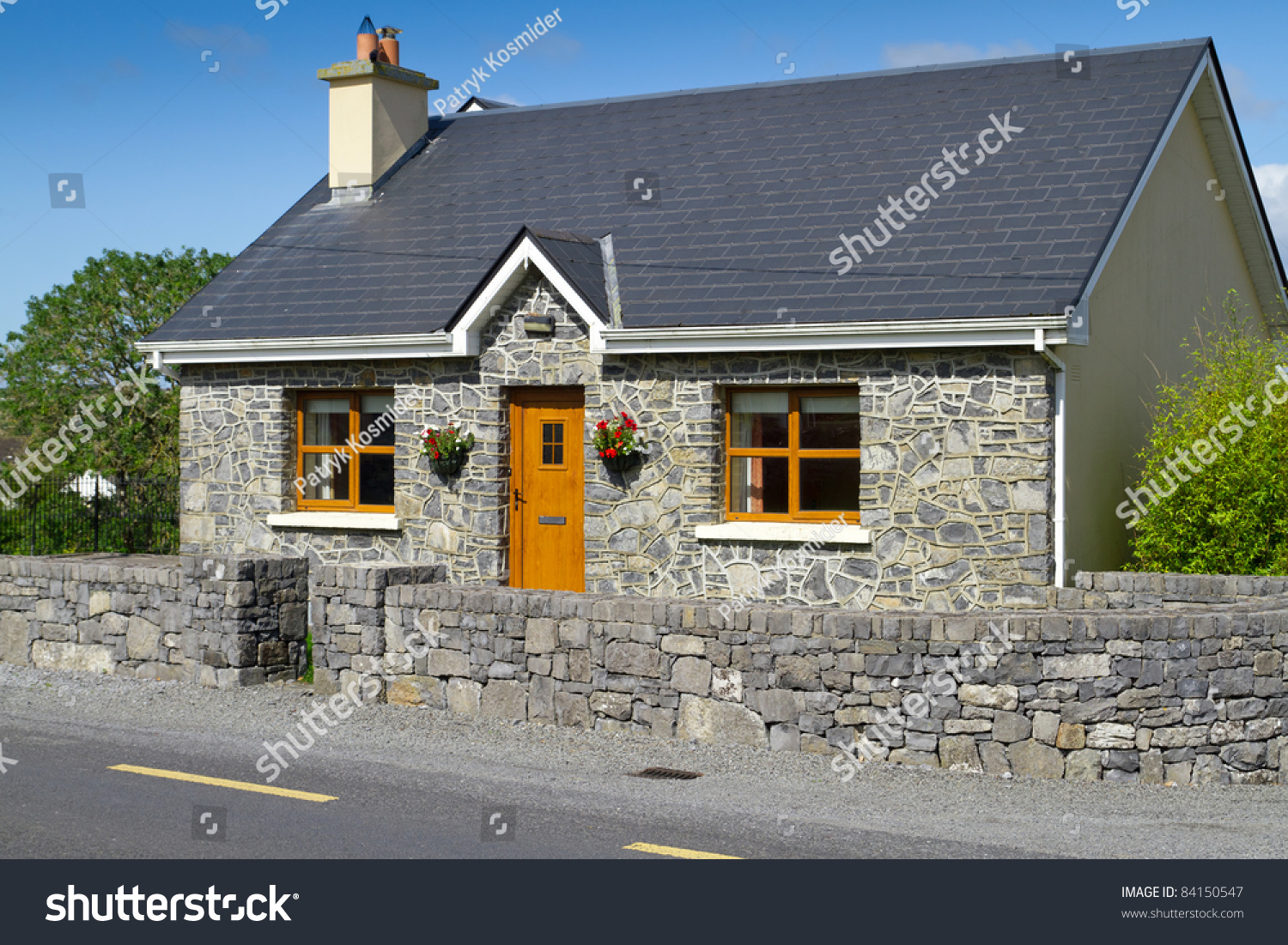 Natural Stone House Exterior Ireland Great Country House Design In Ireland With