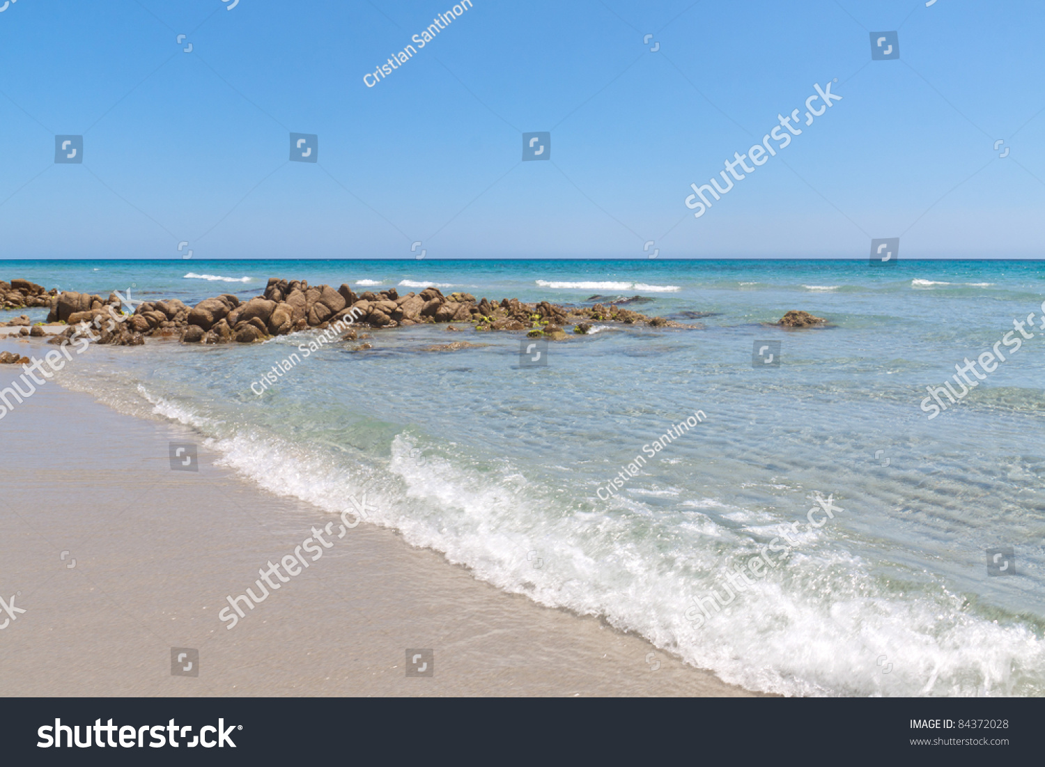 Amazing Sardinia Beach With Crystal And Blue Water On The ... - photo#36