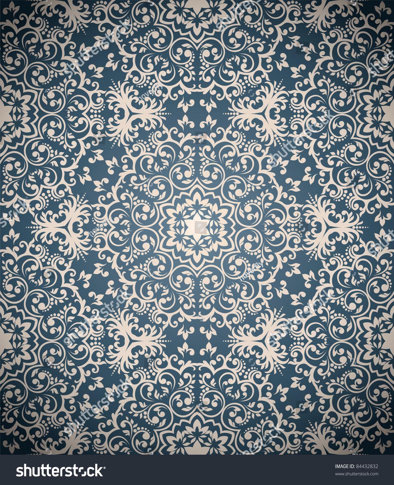 Abstract Seamless Wallpaper Stock Photo 84432832