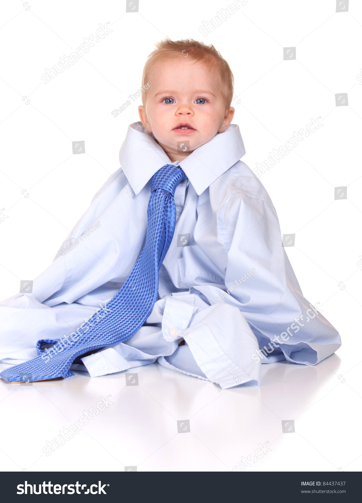 image cute baby suit wearing over stock photo (edit now) 84437437