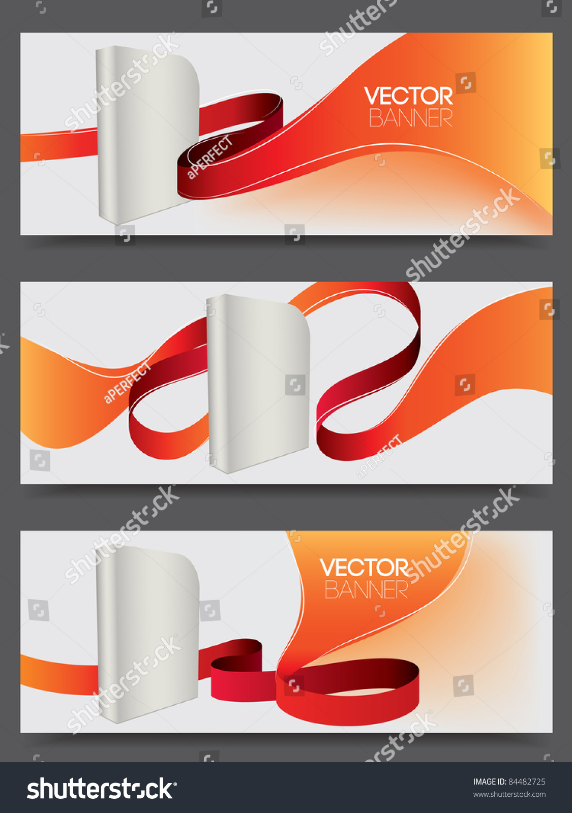 Vector website banners for software products 84482725 Vector image software