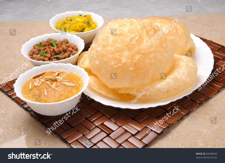Halwa Puri Breakfast Stock Photo 84498295 Shutterstock