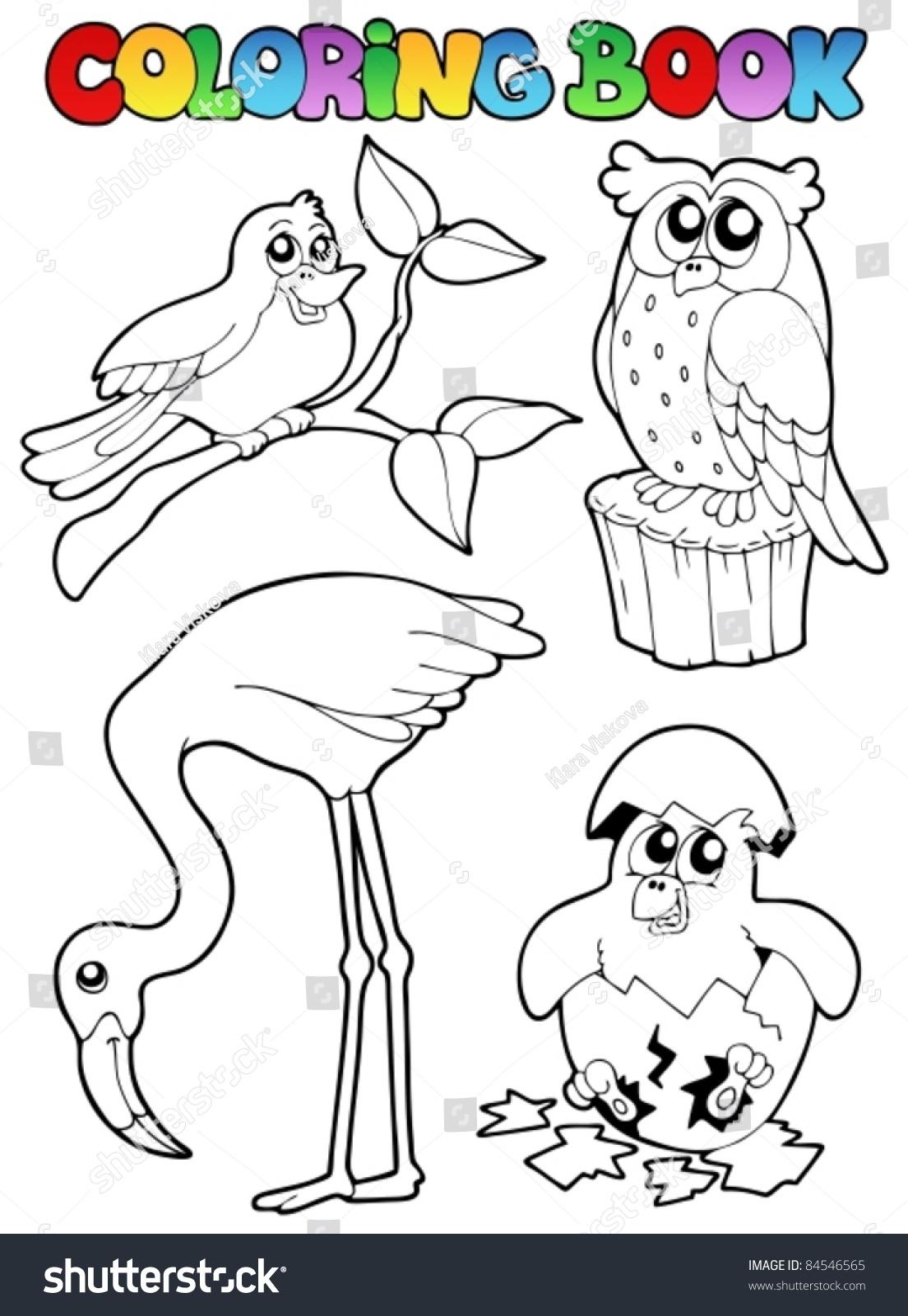Fantastic Coloring Book Birds Photos - Documentation Template ...